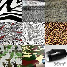 8€/m² Stickerbomb Folie Autofolie BLASENFREI Sticker Bomb 3D Auto Folie Tarn