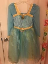 disney Store Merida Dress Costume Size 9 10