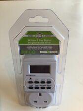 LED Enchufe en el ahorro de energía 24 hora 7 día Digital Temporizador programable interruptor Socket
