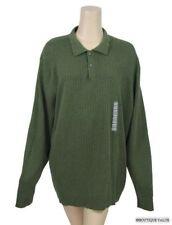ALFANI Olive Green Mens Longsleeve Shirt SZ 2XL NWT $48