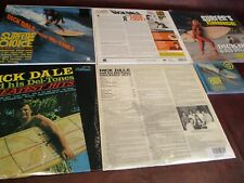 DICK DALE SURFER'S CHOICE RARE OUT OF PRINT CD & VINYL LP'S + GREATEST HITS SET
