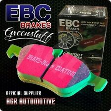 EBC GREENSTUFF FRONT PADS DP21287 FOR SMART CITY-COUPE 0.6 TURBO 98-2002