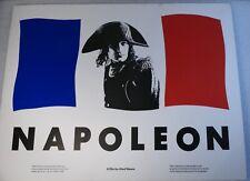 ART PRINTS NAPOLEON FILM BY ABEL GANCE POSTER WALKER ART CENTER POSTER 1980