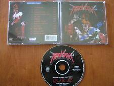ARAKAIN  S.O.S CD 1996 POPRON 1ST PRESS HEAVY THRASH METAL HEATHEN METALLICA