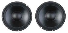 "NEW (2) 10"" Inch Premium Heavy Duty Pro Audio Woofer Speaker Driver 500W 4&8 Ohm"