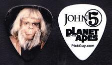 Rob Zombie John 5 Planet Of The Apes Dr. Maximus Guitar Pick - 2017 Tour