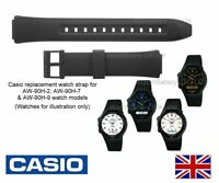 Genuine Casio Watch Strap Band for AW-90H AW90H AW 90H Watch - 10379447 - BLACK