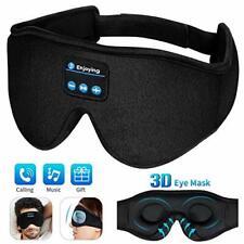 Masque de Nuit,3D Sommeil Casque Musical Bluetooth 5.0 sans B - 3D