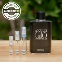 Acqua di Gio PROFUMO Giorgio Armani EDP SAMPLE 2ml 3ml 5ml 10ml Authentic Spray