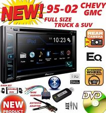 95-02 GM TRUCK/SUV DVD CD USB TOUCHSCREEN BLUETOOTH DOUBLE DIN CAR STEREO RADIO
