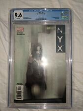 NYX #3 (2004) 1st APPEARANCE X-23 CGC 9.6 WP Middleton Quesada
