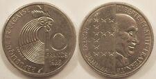 10 Francs Schuman 1986, SUP !!