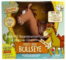 Disney Pixar Toy Story Woody Roundup Talking Horse Bullseye Signature Collection