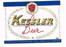 Kessler Beer 7oz Kessler Brewing Co Helena Montana Tavern Trove