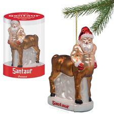 Santaur Ornament Christmas Tree Half Horse Santa Claus Centaur Xmas New