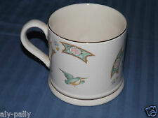 """Large Wade Tankard Mug vgc displayed only not used birds flowers heavy 4"""""""
