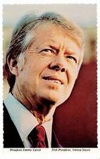 President Jimmy Carter Unused Postcard