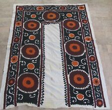 UZBEK SILK HAND EMBROIDERED SUZANI JOYPYSH # 8481