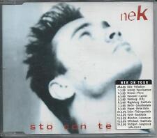 NEK - Sto con te (REMIXES) CDM 5TR 1998 GERMANY RELEASE RARE!!!