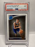 2018 Panini Donruss #182 Michael Porter Jr. Nuggets RC Rookie PSA 9 (NOT OPTIC)