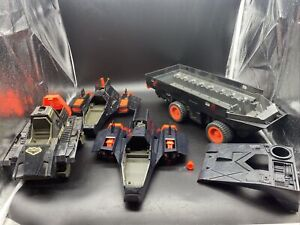 GI Joe Night Force 88/89 Parts Lot Some For Repair Most Unbroken
