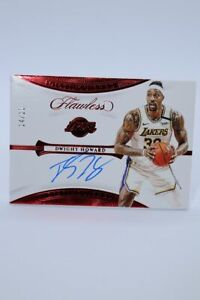 2019-20 Panini Flawless Ruby 14/15 distinguished Dwight Howard Nuggets