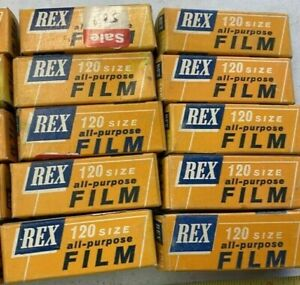 NOS REX 120 ALL PURPOSE CAMERA FILM  SEALED ~ EXPIRED ~ PRICE IS FOR 1