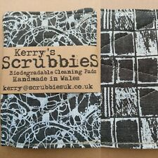 Kerry's Scrubbies Plastic-Free Handmade Un-Sponges 100% Biodegradable - Set of 2