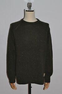 Men's CARHARTT Anglistic Sweater Crew Neck Jumper Size M