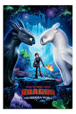 How To Train Your Dragon One Sheet Official Poster New