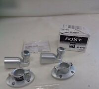SONY SPEAKER WALL MOUNT WS-WV10D PAIR (2) SILVER MARINE BOAT