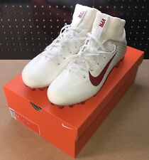 Nike Vapor Untouchable 2 CF White Red Football Cleats Size 13 924113-103