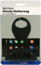 Smartphone Lade Halterung schwarz 13x9cm für Steckdose - Ablage Samsung & Iphone