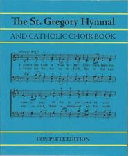 St. Gregory Hymnal and Catholic Choir Book -Complete, Traditional Version