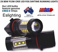 2X P13W LED DRL FOG LIGHT WHITE BULB FOR FT86 GT MY15 WRX STI FORESTER SUBARU