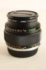 Olympus 50mm f1.2 Zuiko lens 35mm film analog VERY RARE!