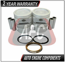 Piston & Piston Rings Fits GM Sunfire Lumina Isuzu Hombre 2.2L - SIZE 020