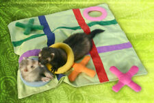 Marshall Ferret Cage Fun N Games Tick Tack Toe Blanket Bed Toy