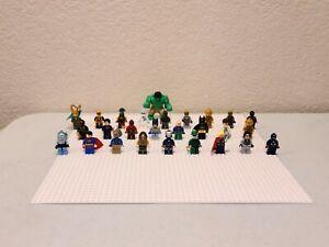 LEGO MINIFIGURES LOT -  MARVEL -  DC SUPERHEROES