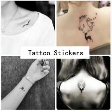 20 Style Temporary Tattoos Sleeves Paper for Women Body Art Tattoo Stickers Fake
