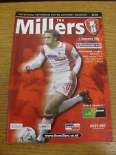17/10/2001 Rotherham United v Coventry City  . Thanks for viewing this item, buy