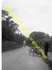 "Sidcup, Kent - Quadricycle, Maidstone Road early 1900s. 7"" x 5"" Photograph"