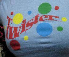 TWISTER juniors lrg T shirt Hasbro game awkward positions Junk Food sexy tee