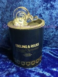Ebeling & Reuss (Crystal Signatures) Snail by Swarovski 69409 - MIB