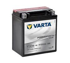 Varta Powersports AGM ytx16-4 ytx16-bs Batería de la Motocicleta 14ah 514902022