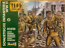 REVELL INFANTERIE  RUSSE SOVIETIQUE 2e GM 1942 STALINGRAD 1/72  figurines