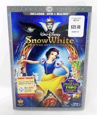 Snow White and the Seven Dwarfs (DVD + BLU-RAY 3-Disc Set) Diamond Edition