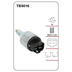 Tridon Switch Stop Light TBS016 fits Honda Prelude 2.0 i EX 16V (BA), 2.2 S (...