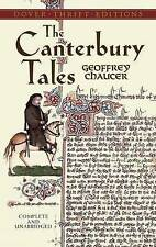 NEW The Canterbury Tales (Dover Thrift Editions) by Geoffrey Chaucer