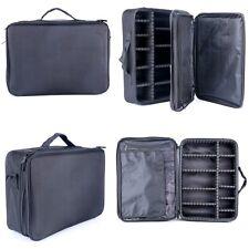Makeup Cosmetic Case Beauty Artist Storage Waterproof Tools Black Box Bag